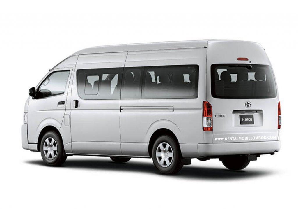 rental mobil Hiace Lombok 2
