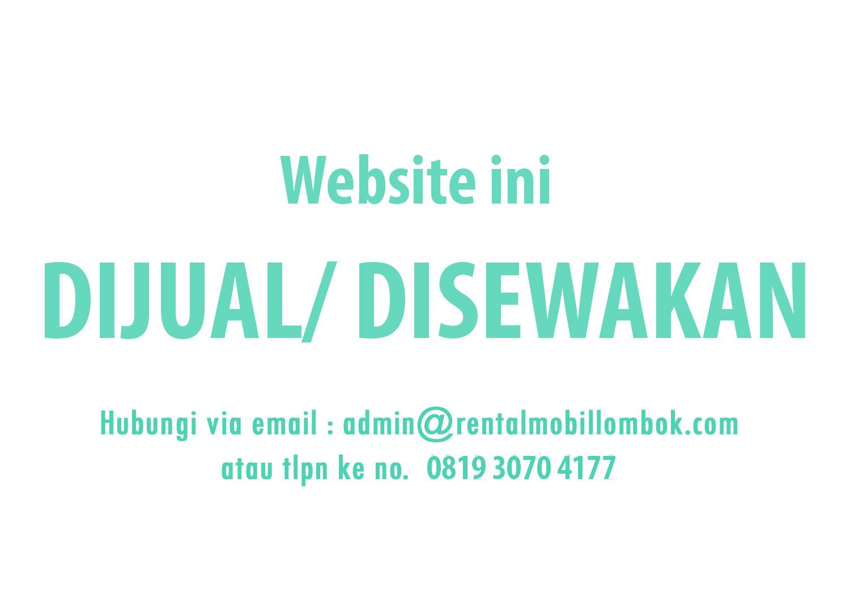 Website dijual / disewakan